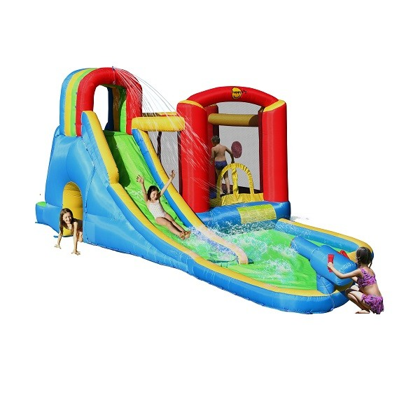 Happy Hop springkussen Splash Wave Zone 9047N