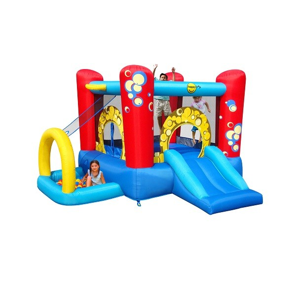 Happy Hop springkussen 4 in 1 Playcenter Bubble 9214